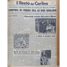 14 Agosto 1961 - Cortina di ferro tra le due Berlino