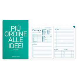 QN Planner mensile - turchese